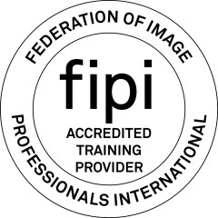FIPI - Accredited Training Provider Logo_b&w 2012 C&G