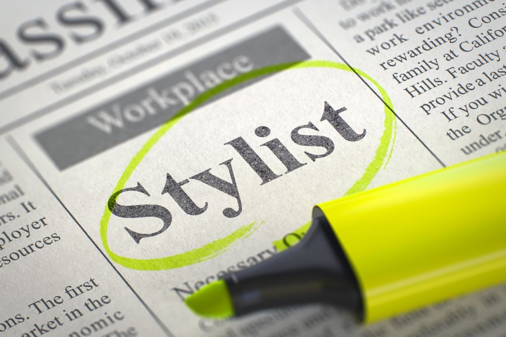become a personal stylist